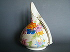 Rare 1930s Hand Painted Art Deco Bewley Pottery Jug