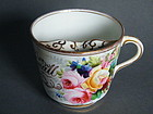 Hand Painted Victorian Moustache Cup - Dated 1882