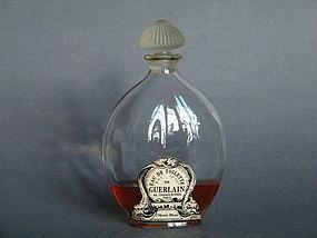 Rare Guerlain L'Heure Bleue Scent Bottle Lalique c1914