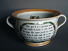 "Rare Early Victorian ""Marrige Present"" Frog Chamber Pot"
