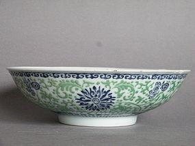Rare Early 18C  Porcalain Bowl, Yongzheng 1723-1735 A/f