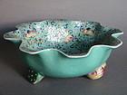 Rare Chinese Porcelain Lotus Bowl, circa 1780-1820
