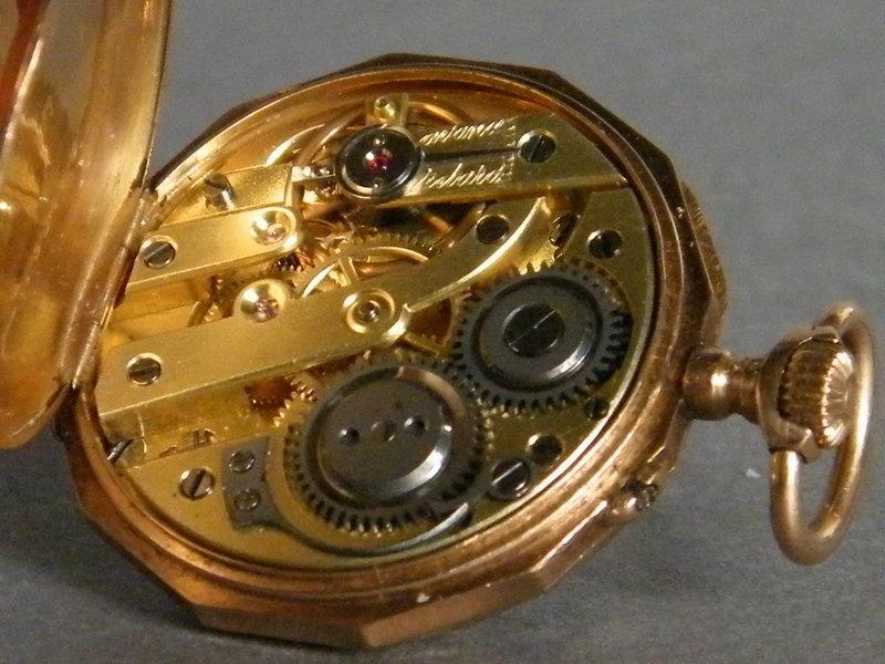 18K Gold Ladies Remontoir Pocket Watch, circa 1875-1910