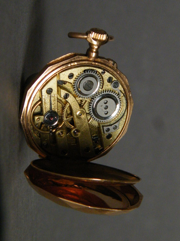 18K Gold Ladies Remontoir Pocket Watch, circa 1875-1910
