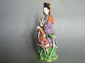 Chinese Famille Rose Guanyin Jiaqing Reign (1796-1820)