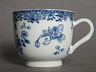 18th Century Chinese Export Porcelain Coffee Cup, Qianlong (1736-1795)