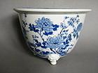 Japanese Porcelain Plant Holder, Meiji Period (1868-1911)