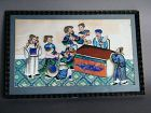 "Chinese Pith Paper Painting ""The Death of  Ma Su"", 19th Century"