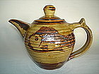 Studio Pottery Ara Cardew Teapot - Late 20th Century