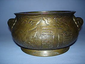 18th/19th Century Chinese Bronze Censer