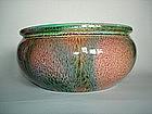 Flambe glazed Bretby Pottery Bowl - c 1900-1910