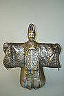 30cm Early 20th Century Japanese Bronze Noh Actor