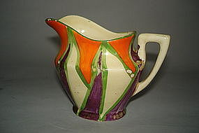1920s - 1930s Art Deco Clarice Cliff Bizarre Cream Jug  **SOLD**