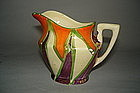 1920s - 1930s Art Deco Clarice Cliff Bizarre Cream Jug  **SOLD**