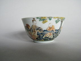 Early 18 Century Famille Rose / Fencai Bowl - Yongzheng