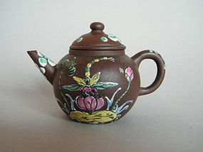 Small Early 20th Century Yixing Teapot, Republic Period