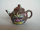 Small Early 20th Century Yixing Teapot, Republic Period