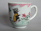 Early 18thC Famille Rose Coffee Cup Yongzheng 1723-1735