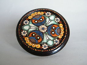 Small Thoune Wanzenried Teapot Stand circa 1885-1915