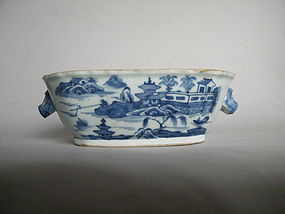 Mid 18th Century Chinese Export Tureen Base, circa 1750