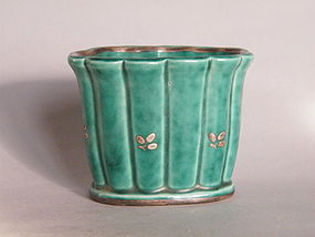 Small Art Deco Argenta Ware Vase -  Gustavsberg Sweden