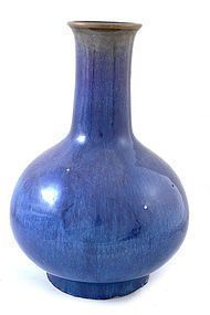Large 18/19th Chinese Flambe Glaze Porcelain Vase