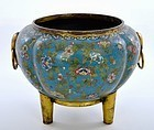 Early 19C Chinese Cloisonne Censer