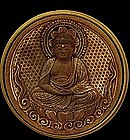 4 19C Japanese Makie Lacquer Zushi Buddha Shrine