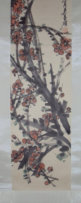 Plum-Blossoms by Wu Changshuo