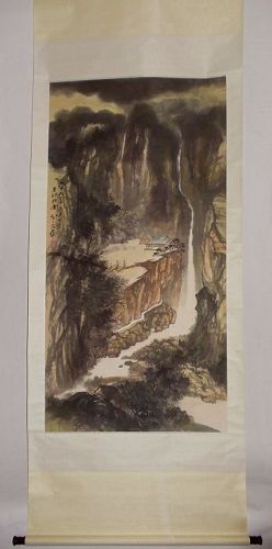 Life in Mountain / Zhang Daqian (1899-1983)