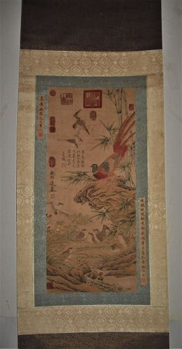 A Peasant and Quilts Heralding a Peaceful Spring /Bian Lu