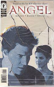 4 Angel comics from Buffy the Vampire Slayer