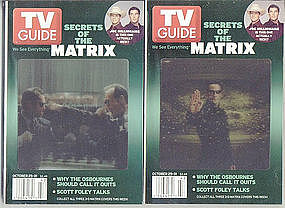 Secrets of The MATRIX  TV Guides