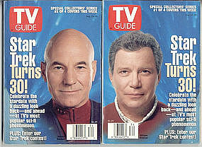 Star Trek Turns 30 TV Guides