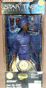 HTF Star Trek TNG 9 inch GUINAN figure