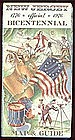 New Jersey Official 1776-1976 Bicentennial Map & Guide