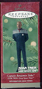 Hallmark Keepsake Ornament of Commander Sisko DSN
