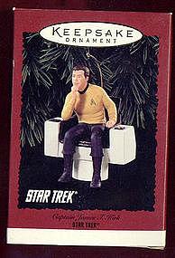 Hallmark Keepsake of Captain James T. Kirk