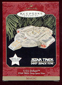 Hallmark Keepsake Ornament  USS DEFIANT