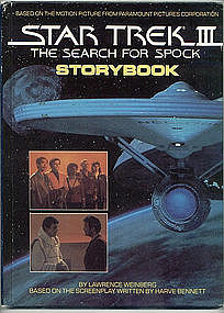 Star Trek III, The Search for Spock Storybook
