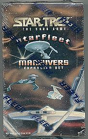 Fleer Unopened box Starfleet Maneuvers Expansion Set