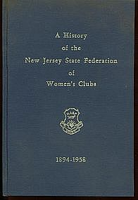 A History of the NJ State Federation of Women's Clubs
