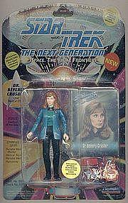 "Star Trek, TNG, Dr. Bev. Crusher 5"" figure, 2nd Series"