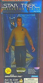 Classic Star Trek Captain Christopher Pike 9 Inch