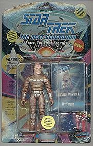 "Star Trek TNG VORGON 5"" action figure"