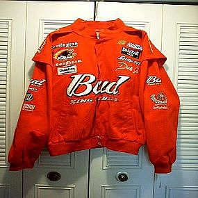 Dale Earnhardt Jr BUD Nascar Jacket NEW XL