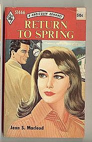 RETURN TO SPRING by Jean S. MacLeod