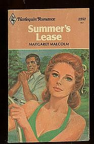 SUMMER'S LEASE by Margaret Malcolm