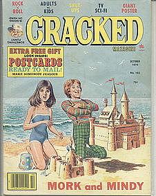Cracked Magazine Oct 1979