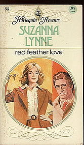 Red Feather Love By Suzanna Lynne